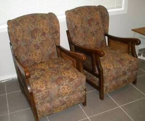 PAIR WINGBACK ARMCHAIRS Nowra Nowra-Bomaderry Preview