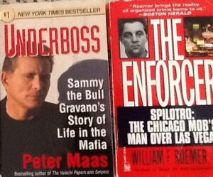 TRUE BOOKS MAFIA, CRIME: $5 each or 3/$10:Mafia:  UNDERBOSS Samm