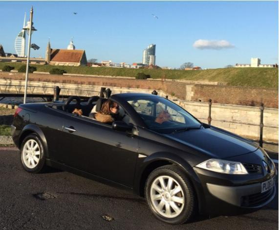 renault megane convertible cabriolet 1 6 vtt dynamique in southsea hampshire gumtree. Black Bedroom Furniture Sets. Home Design Ideas