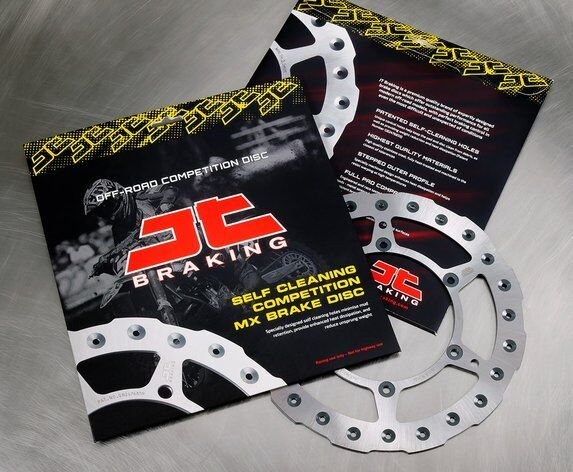 Honda CR80 (1996 to 2002) JT Brakes Self Cleaning FRONT Brake Disc (1010SC01)