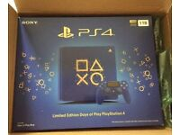 Playstation 4 1TB Days of Play blue edition
