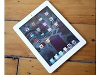 APPLE IPAD 2 3G/WIFI IN WHITE AND BLACK COMES WITH CHARGER AND THREE MONTHS WARRANTY