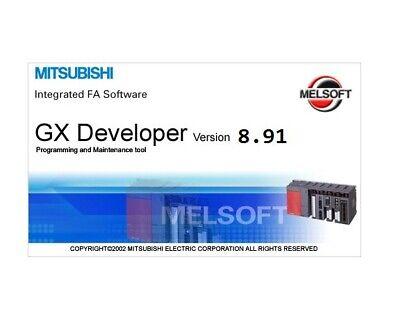 Mitsubishi Plc Programming Gx-developer Software V8.91 Fx Series License Key