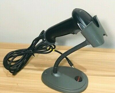 Honeywell Hyperion 1300g Barcode Scanner Wgooseneck Stand Testedworking