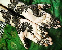 HENNA OR MEHANDI TATTOO $10 PER SIDE OF HAND