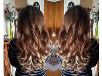 £ 150 FULL HEAD MICRO RING HAIR EXTENSIONS LOOP RUSSIAN DOUBLE DRAWN VIRGIN NANO KERATIN BONDS