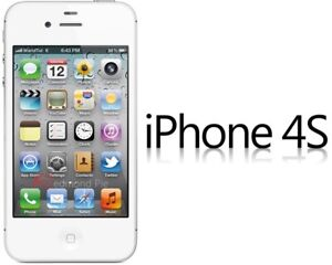 Mint Condition White Apple Iphone 4S Bell