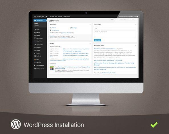 WordPress Theme Installation (Demo Setup, Plugin, Customization, Security, SEO)