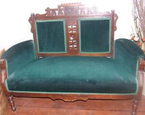 eastlake settee love seat