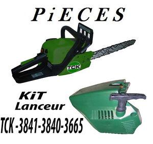 Piece Tronconneuse KIT Lanceur TCK 3636 TCK 3840 TCK 3841 TCK Garden