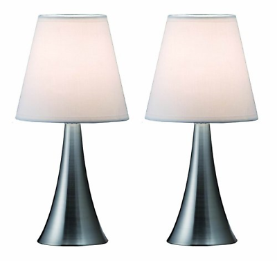 Modern Stand Table Lamps 2 Set Lamp Touch Sensor Bedroom Nig