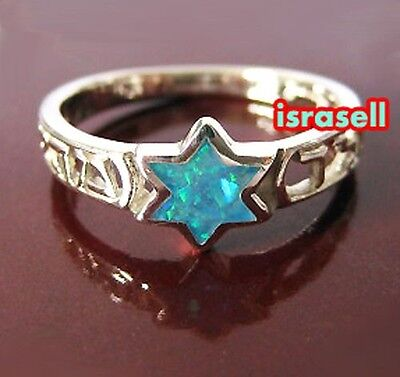 925 Sterling Silver KABBALAH PROTECTION & HEALING RING WITH STAR OF DAVID