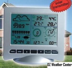 Solar-Powered-Professional-Wireless-Weather-Station-with-PC-Link