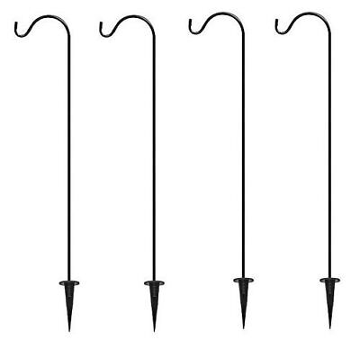 Shepard Hooks Multi Use Ground Stakes - Set of 4 - FREE Shipping USA Seller