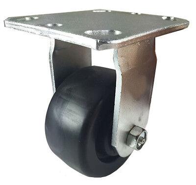 4 X 2 Heavy Duty Plastic Caster - Rigid