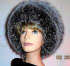 Fox Fur Silver Hats for Women