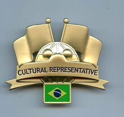 World Culture Costumes (WDW Walt Disney World Cultural Representative Brazil Flag Globe Cast Costume)