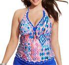 Gottex Geometric Plus Size Tankini Swimwear for Women