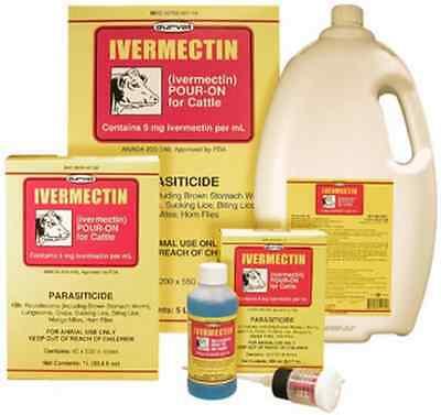 Durvet Ivermectin Pour On 1000 Ml For Cattle