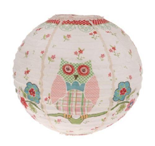 Owl lampshade ebay aloadofball Choice Image