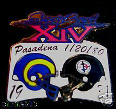Super Bowl 14 Final Score Pin  Steelers Vs Rams
