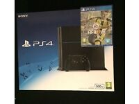 Brand new PS4 + Fifa 17 - Unopened