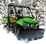 "KFI 66"" UTV Poly Blade Snow Plow Kit for 2011 picture"