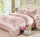 Queen Pink Patchwork Quilts