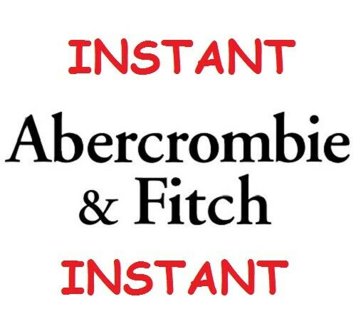 Abercrombie & Fitch 15% Off Coupon Entire Purchase In Store Online *INSTANT*