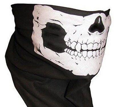 Harley Motorcycle Skull Face Biker Bandana Mask Scarf Bandanna Headwrap