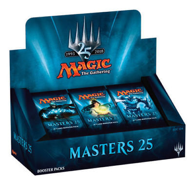 MAGIC The Gathering MASTERS 25 Booster Box Sealed FREE PRIORITY SHIP