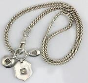 Sterling Pocket Watch Chain