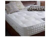2000 pocket sprung memory foam mattress hand stitched border tack 3ft 4ft6 5ft