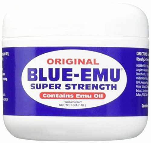 BLUE-EMU Super Strength Emu Oil - 4 Oz - New And Fresh Guara