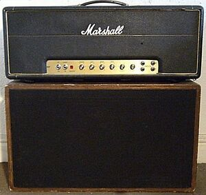 Vintage 1974 Marshall with speakers for sale