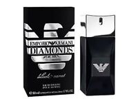 Brand New Sealed Genuine Authentic EA Emporio Armani Diamonds Black Carat 50ml Aftershave for Mens