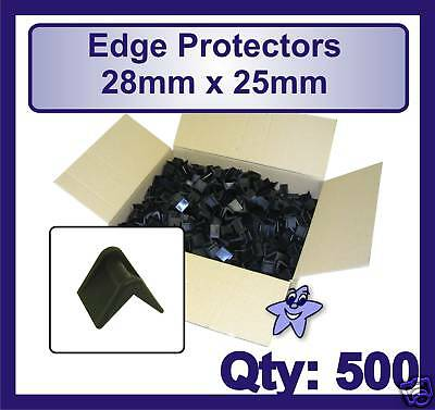 Plastic Edge Protectors For Pallets / Strapping 28mm x 25mm Qty: 500