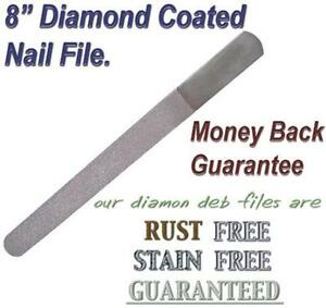 how to use diamond foot file