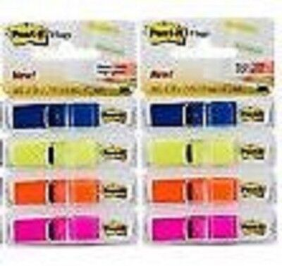 (2 PACK) 3M Post-it Highlighting Flags Assorted Colors, 1/2-Inch Wide,140 Flags 3m Post It Flag Highlighter