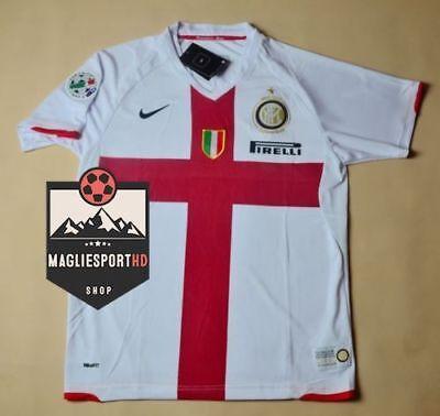 Maglia Ibrahimovic Zanetti Inter 2007-2008 Internazionale Icardi Materazzi calci