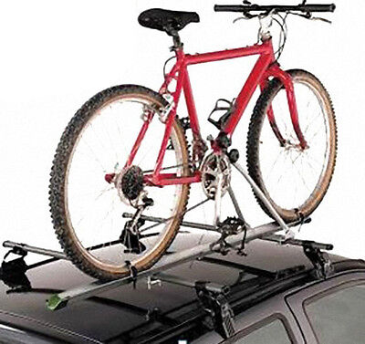 3 X Aluminum Upright Car SUV Roof Bike Bicycle Rack Carrier W/Lock (For 3 Bikes)
