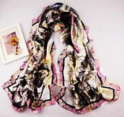 Long Satin Scarf