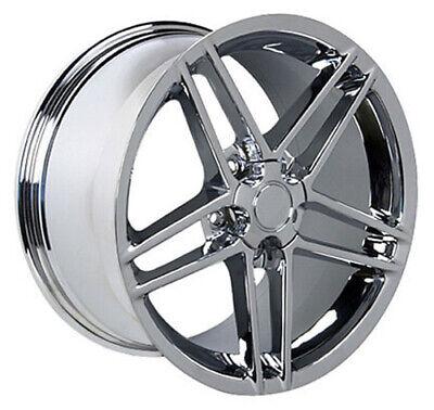 Wheel 1988-2004 Chevrolet Corvette 18 Inch Aluminum Rim 5 Lug 120.65mm Chrome