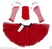 Girls Red Tutu