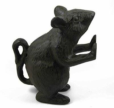 Cast Iron Mouse Rodent Door Stopper Farmhouse, Shabby Chic, Rustic Quality - Cast Iron Farmhouse
