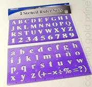 Letter Stencils 6