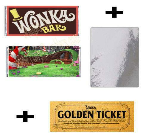 Chocolate Milk Golden Ticket
