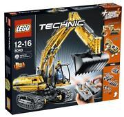 Lego Technic Motorisierter Raupenbagger 8043