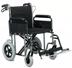 Wheelchair, Heavy Duty, Car Transit, Roma Medical: 1485X Inc. FREE cushion