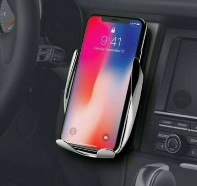 US Wireless Automatic Sensor Car Phone Holder and Charger 2 in1 360 Degree